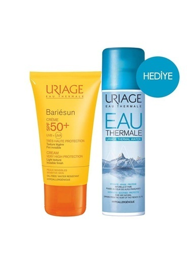 Uriage Urıage Bariesun Creme Spf50+ Very High Protection 50 Ml Alana Thermal Water 50 Ml Hediye Renksiz
